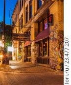 Вечерний Виннипег, Канада (2016 год). Редакционное фото, фотограф Игорь Ворончихин / Фотобанк Лори