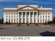 Город Тюмень.Правительство Тюменской области (2016 год). Стоковое фото, фотограф Тёма Потапов / Фотобанк Лори