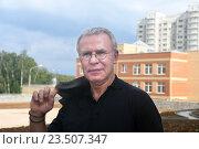 Вячеслав Александрович Фетисов, член Совета Федерации (2016 год). Редакционное фото, фотограф Борис Двойников / Фотобанк Лори