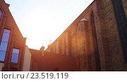 Купить «Parish of Assumption of Blessed Virgin Mary, Torun», видеоролик № 23519119, снято 6 ноября 2015 г. (c) BestPhotoStudio / Фотобанк Лори