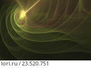 Абстрактный фрактальный фон. Стоковая иллюстрация, иллюстратор Rashpil / Фотобанк Лори