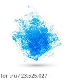 Текстура краски на белом фоне. Стоковая иллюстрация, иллюстратор Евгения Малахова / Фотобанк Лори
