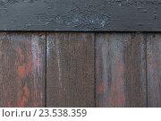 Купить «close up of old wooden fence», фото № 23538359, снято 27 июня 2016 г. (c) Syda Productions / Фотобанк Лори