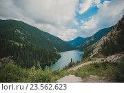Озеро Кольсай. Алматинская область. Казахстан. Стоковое фото, фотограф Олыкайнен Наталья / Фотобанк Лори
