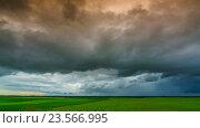 Купить «Timelapse clouds in spanish field», видеоролик № 23566995, снято 12 сентября 2016 г. (c) Raev Denis / Фотобанк Лори