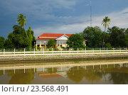 AYUTTHAYA, THAILAND - August, 2016: The Bang Pa-In Royal Palace in Thailand's Phra Nakhon Si Ayutthaya Province. Стоковое фото, фотограф Natalya Sidorova / Фотобанк Лори