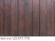 Купить «close up of brown wooden fence boards or wall», фото № 23577775, снято 27 июня 2016 г. (c) Syda Productions / Фотобанк Лори