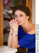 Купить «Портрет красивой девушки», фото № 23602523, снято 31 июля 2016 г. (c) Алексей Назаров / Фотобанк Лори