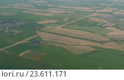 Купить «View from the airplane taking off», видеоролик № 23611171, снято 6 сентября 2016 г. (c) Игорь Жоров / Фотобанк Лори