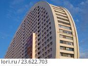 Высотное жилое здание на улице Гризодубовой дом 2 в Москве (2016 год). Стоковое фото, фотограф Ольга Летто / Фотобанк Лори