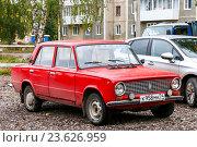 Купить «Lada 2101», фото № 23626959, снято 21 сентября 2016 г. (c) Art Konovalov / Фотобанк Лори