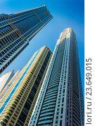 Купить «DUBAI, UAE - NOVEMBER 13: High rise buildings and streets nov 13. 2012 in Dubai, UAE. Dubai was the fastest developing city in the world between 2002 and 2008.», фото № 23649015, снято 13 ноября 2012 г. (c) easy Fotostock / Фотобанк Лори