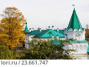 Никольский мужской монастырь, Старая Ладога. Стоковое фото, фотограф Анна Алексеенко / Фотобанк Лори