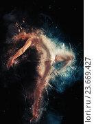 Купить «dancer ballerina», фото № 23669427, снято 22 августа 2015 г. (c) Константин Юганов / Фотобанк Лори