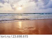 Андаманское море на закате. Стоковое фото, фотограф Наталия Журова / Фотобанк Лори