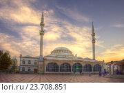 Махачкала. Центральная Джума-Мечеть (2016 год). Стоковое фото, фотограф Литвяк Игорь / Фотобанк Лори