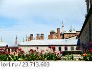 Вид крыши дворца Топкапы. Стоковое фото, фотограф Елена Антипина / Фотобанк Лори