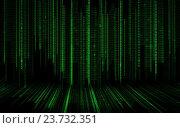 Купить «black green binary system code background», иллюстрация № 23732351 (c) Syda Productions / Фотобанк Лори