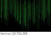 Купить «black green binary system code background», иллюстрация № 23732355 (c) Syda Productions / Фотобанк Лори