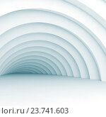 Купить «Vortex tunnel, 3d illustration», иллюстрация № 23741603 (c) EugeneSergeev / Фотобанк Лори