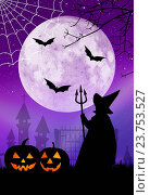 Купить «Halloween postcard», фото № 23753527, снято 16 августа 2014 г. (c) easy Fotostock / Фотобанк Лори