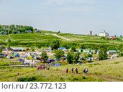 Купить «Стоянка паломников, Аркаим», фото № 23772123, снято 20 июня 2015 г. (c) Хайрятдинов Ринат / Фотобанк Лори