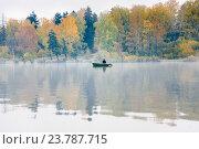 Рыбалка на озере Сенеж (2016 год). Стоковое фото, фотограф Алёшина Оксана / Фотобанк Лори