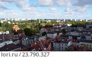 Купить «Torun (Thorn) is city in Poland, on Vistula Rive», видеоролик № 23790327, снято 7 апреля 2016 г. (c) BestPhotoStudio / Фотобанк Лори