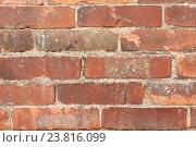 Купить «old brick wall background», фото № 23816099, снято 2 июня 2016 г. (c) Syda Productions / Фотобанк Лори