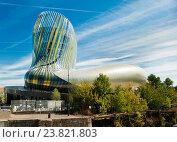 Музей вина в Бордо. Франция (2016 год). Редакционное фото, фотограф Елена Поминова / Фотобанк Лори