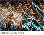 Купить «Lightpainting Quads Art», фото № 23827643, снято 30 марта 2020 г. (c) age Fotostock / Фотобанк Лори