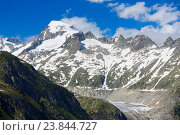 Купить «Galenstock - 3586 ms, Uri, Switzerland», фото № 23844727, снято 4 июля 2016 г. (c) age Fotostock / Фотобанк Лори