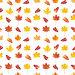 Бесшовный фон с красочными осенними листьями, иллюстрация № 23859871 (c) Наталия Пыжова / Фотобанк Лори