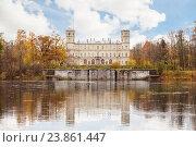 Большой Гатчинский дворец в пригороде Санкт-Петербурга (2016 год). Редакционное фото, фотограф Anna P. / Фотобанк Лори