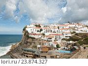 Купить «Вид на город Azenhas do Mar. Португалия», фото № 23874327, снято 15 октября 2016 г. (c) Екатерина Овсянникова / Фотобанк Лори