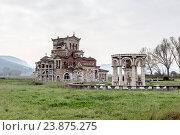 Купить «Необычная церковь Святой Фотины (Пелопоннес, Греция)», фото № 23875275, снято 2 апреля 2016 г. (c) Татьяна Ляпи / Фотобанк Лори