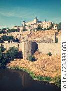 Купить «View of Alcazar of Toledo. Castile–La Mancha», фото № 23888663, снято 23 августа 2013 г. (c) Яков Филимонов / Фотобанк Лори