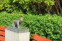 Фигура ползущего маленького ребенка на детской площадке около моста в Vigeland Park. Осло, Норвегия, фото № 23923343, снято 12 июля 2016 г. (c) Валерия Попова / Фотобанк Лори