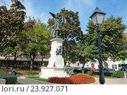 Купить «Монумент независимости -  памятник героям Венгерской революции 1848 года», фото № 23927071, снято 29 сентября 2016 г. (c) Irina Opachevsky / Фотобанк Лори