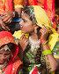 Девушки в этнической одежде на ярмарке Пушкар. Раджастхан, Индия., фото № 23970763, снято 21 ноября 2012 г. (c) photoff / Фотобанк Лори