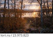 Осенний пейзаж с березами. Стоковое фото, фотограф Павел / Фотобанк Лори
