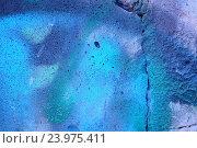 Купить «Rough textured blue wall», фото № 23975411, снято 15 октября 2014 г. (c) easy Fotostock / Фотобанк Лори