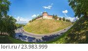 Купить «Нижний Новгород. Кремлевский холм», фото № 23983999, снято 1 июля 2016 г. (c) Дмитрий Тищенко / Фотобанк Лори