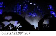 Купить «Толпа во время концерта», видеоролик № 23991907, снято 28 октября 2016 г. (c) Roman Larchikov / Фотобанк Лори