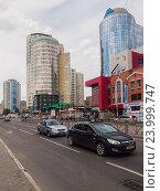Улица Радищева, Екатеринбург (2016 год). Редакционное фото, фотограф Игорь Ворончихин / Фотобанк Лори