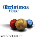 Рождественский фон. Стоковая иллюстрация, иллюстратор Aqua / Фотобанк Лори