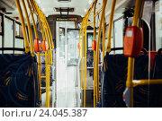 Система оплаты проезда в автобусе (2016 год). Редакционное фото, фотограф Евгений Рудницкий / Фотобанк Лори