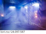 Комната управления в дыму. Стоковое фото, фотограф Кривцов Алексей / Фотобанк Лори