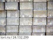 Купить «batch of bricks», фото № 24132299, снято 18 апреля 2015 г. (c) Syda Productions / Фотобанк Лори