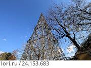 Купить «Шуховская башня. Москва, Россия», фото № 24153683, снято 25 октября 2016 г. (c) Владимир Журавлев / Фотобанк Лори